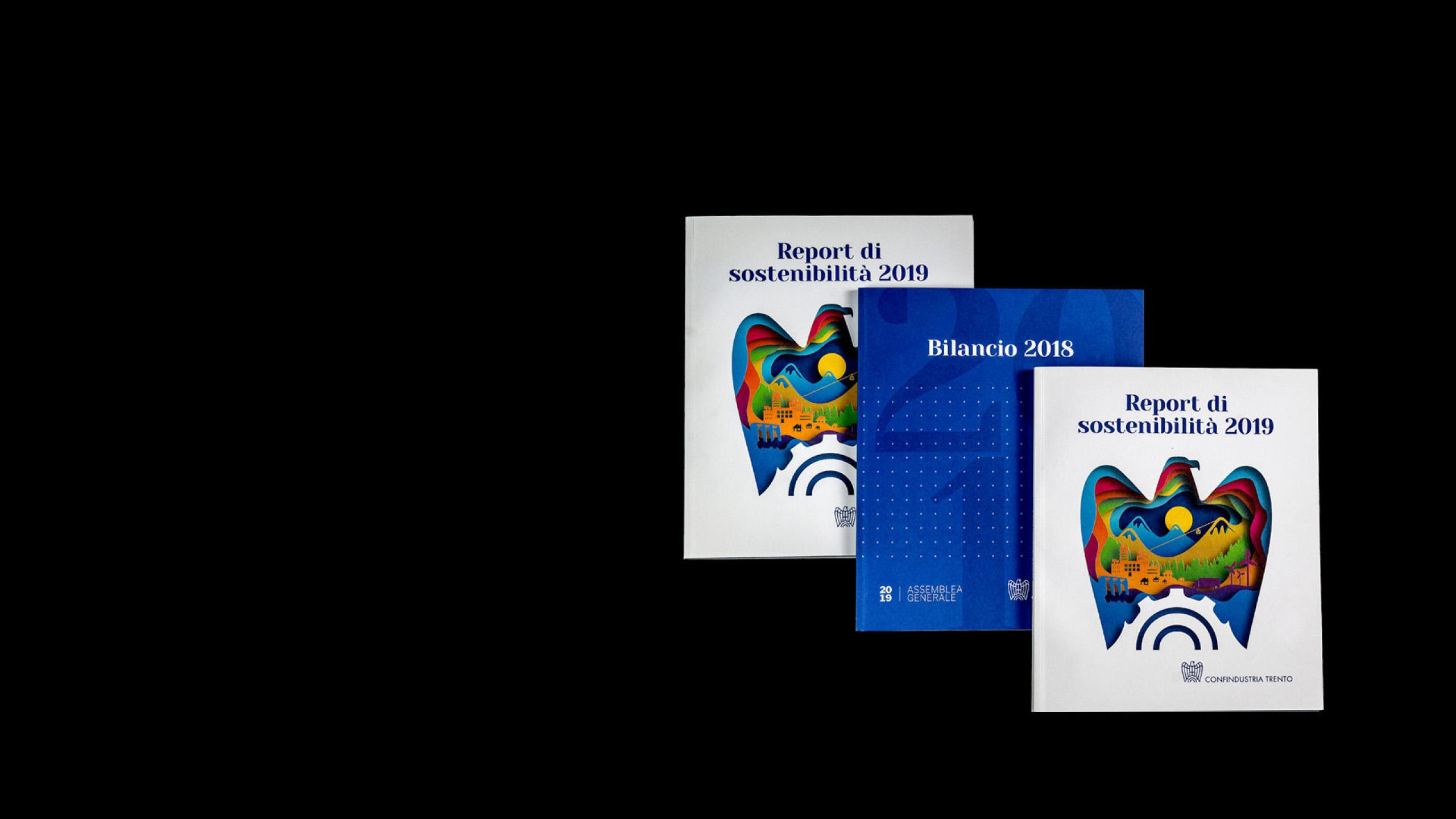 brochure catalogo report confindustria