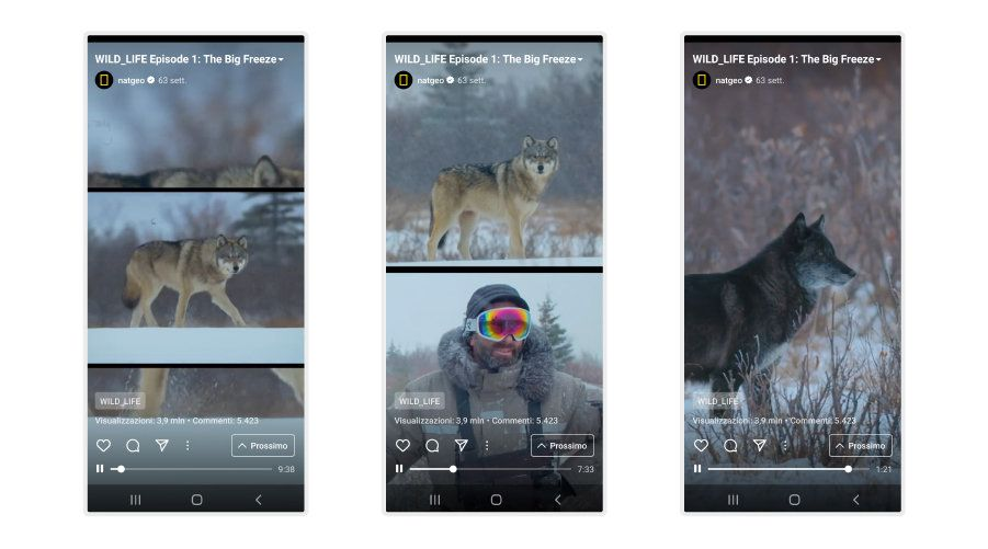 instagram igtv esempi national geographic video documentario